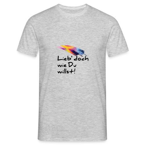 Liebe - Männer T-Shirt