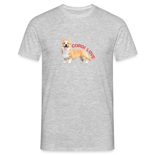 CorgiLove - Men's T-Shirt
