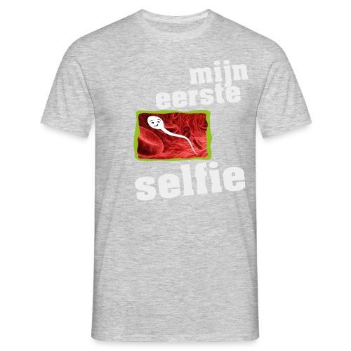 mijn eerste foto - Mannen T-shirt