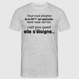 La quarantaine - T-shirt Homme