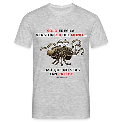 Camiseta hombre versión 2.0 del mono - Camiseta hombre
