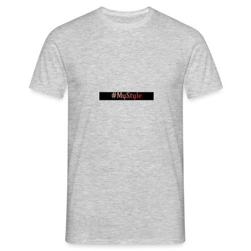 #MyStyle Männer Kleidung - Männer T-Shirt