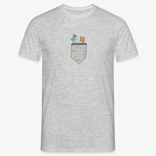 brusttaeschle - Männer T-Shirt