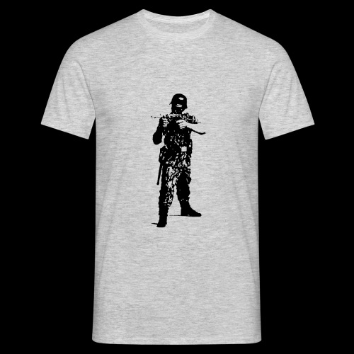 Soldat Attacke - Männer T-Shirt