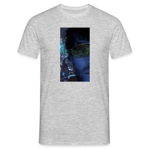 Cyberpunk - Fly verkligheten med en T-shirt - T-shirt herr