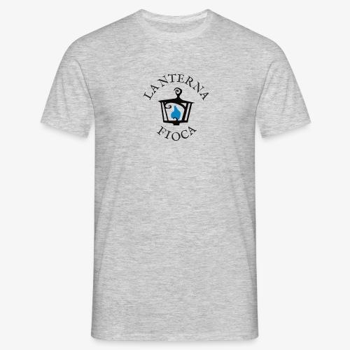 Logo e Scritta Lanterna Fioca - Maglietta da uomo