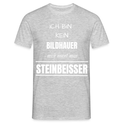 Bildhauer Beruf Spruch lustig Geburtstag Geschenk - Männer T-Shirt