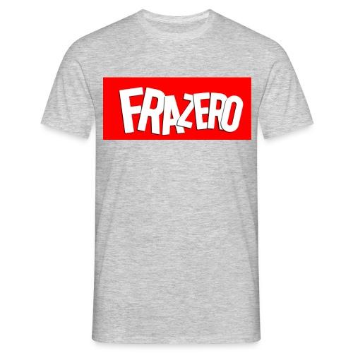 FRAZERO RED BOX DESIGN - Men's T-Shirt