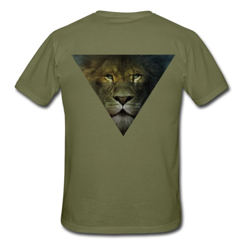Lion Triangle Collection - T-shirt Homme