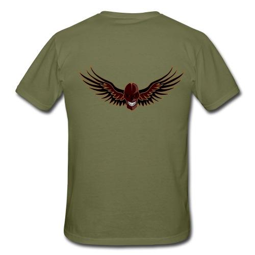 craneo aguila - Camiseta hombre