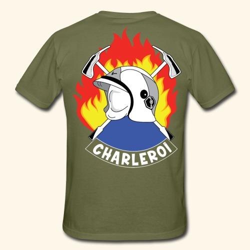Emblème Pompier Charleroi - T-shirt Homme