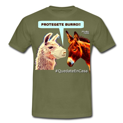 PROTEGETE BURRO - Männer T-Shirt