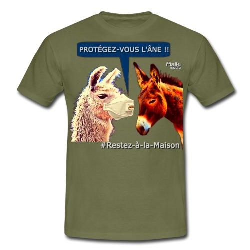 PROTEGEZ-VOUS L'ÂNE !! - Coronavirus - Camiseta hombre