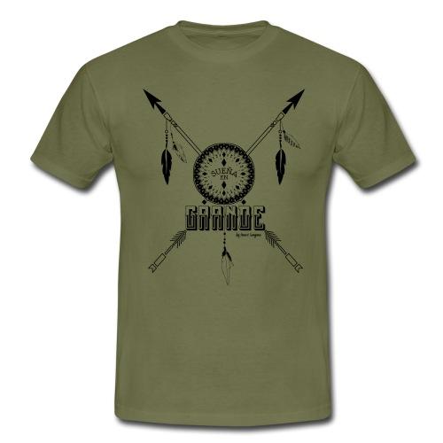 SUEN A EN GRANDE negro - Camiseta hombre