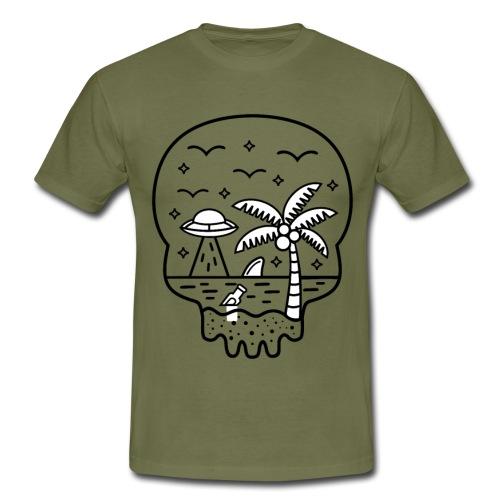 Die Wahrheit ist am Strand - Männer T-Shirt