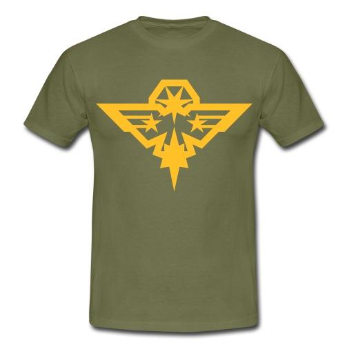 Aigle charbonneur coloré - T-shirt Homme