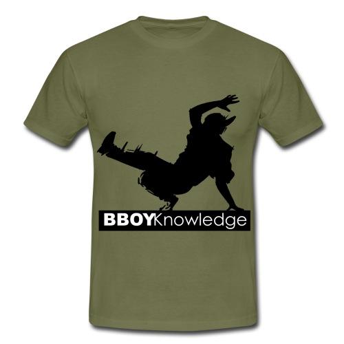 Bboy knowledge noir & blanc - T-shirt Homme