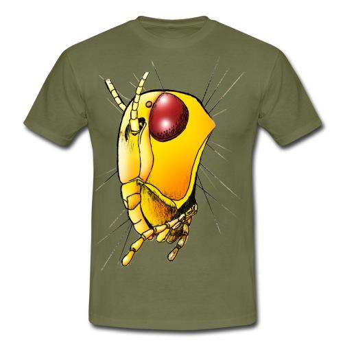 Alien insect yellow - Maglietta da uomo