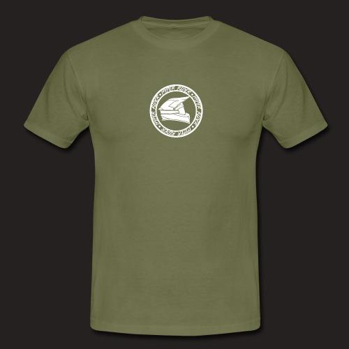500hr white - Männer T-Shirt