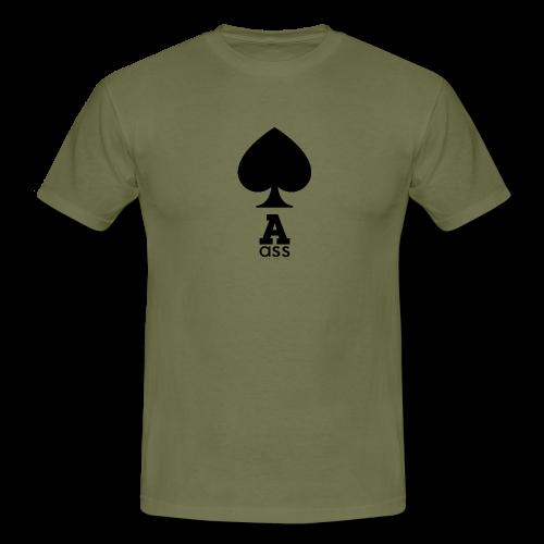 PIK ASS - Männer T-Shirt
