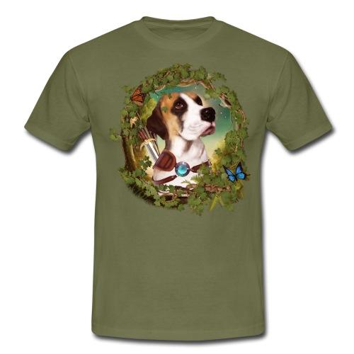 Fantasy Dog - Maglietta da uomo