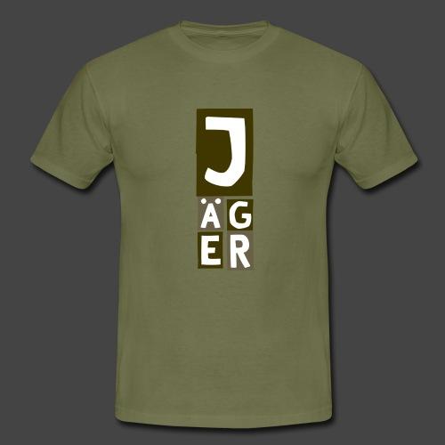 Der Jägerturm - original Jägershirt - Männer T-Shirt