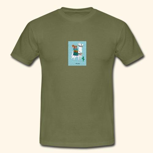 Lama Gang - Männer T-Shirt