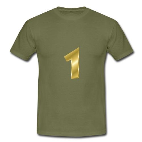 nummer 1 - Männer T-Shirt