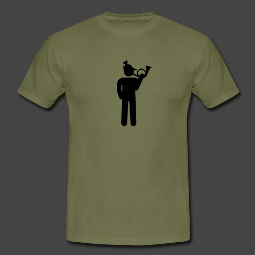 """Jägershirt """"Jagdhornbläser"""" - Männer T-Shirt"""