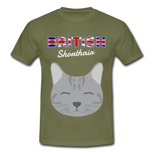 British Shorthair - Männer T-Shirt