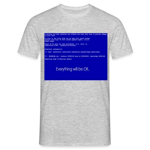 screen error - Männer T-Shirt