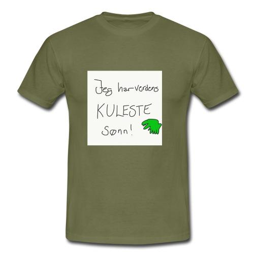 Kul sønn - T-skjorte for menn