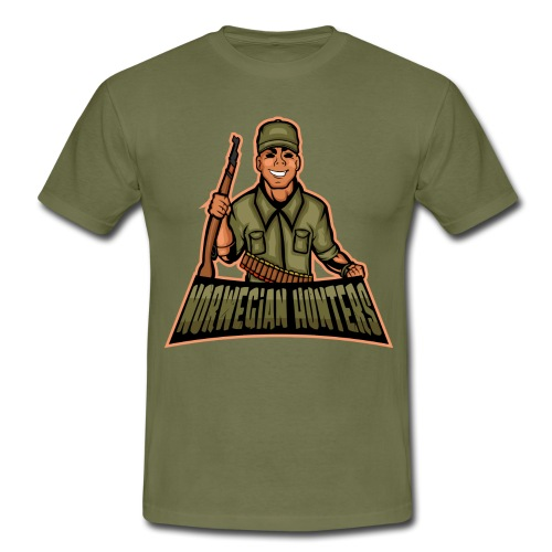 NORWEGIAN HUNTERS - T-skjorte for menn