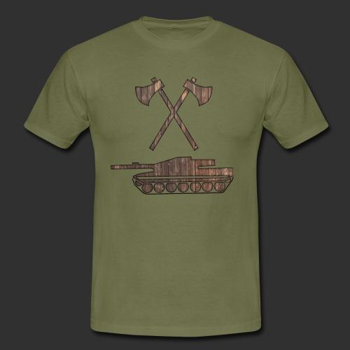 Pz Sap Holz - Männer T-Shirt