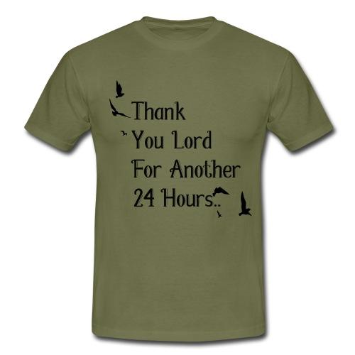 Merci mon Dieu pour une autre 24 heures - T-shirt Homme