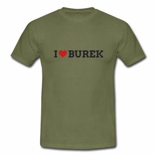 I ❤️ Burek - T-shirt herr