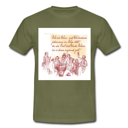 Bacchus 09 - Männer T-Shirt