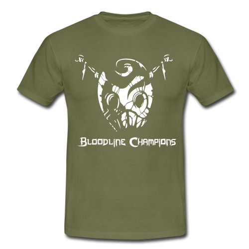 blc logo textnmask - Men's T-Shirt