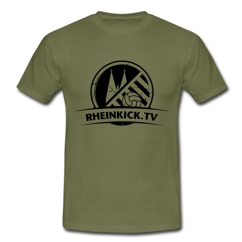 Rheinkick_Schwarz_3200x24 - Männer T-Shirt