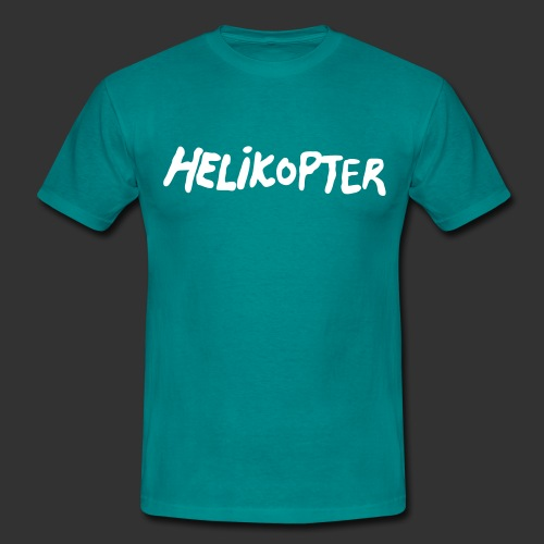 Helikopter Repmånad - T-shirt herr