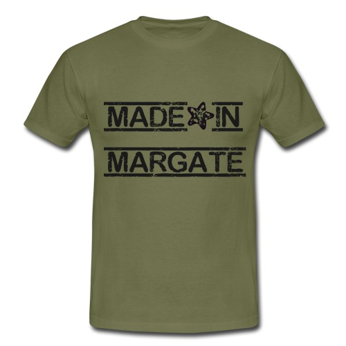 Made in Margate - Black - Men's T-Shirt
