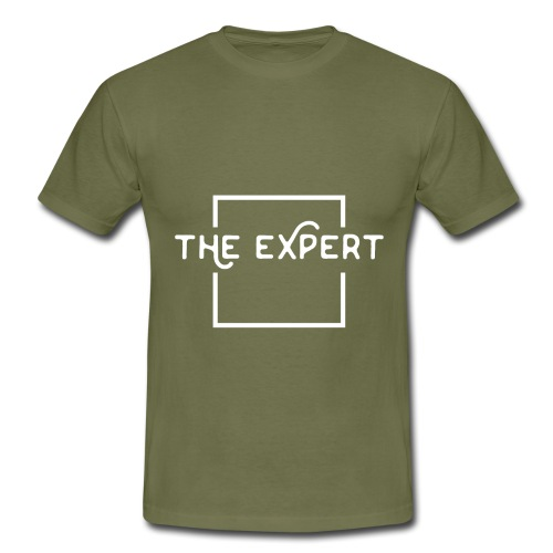 The Expert Design - Männer T-Shirt
