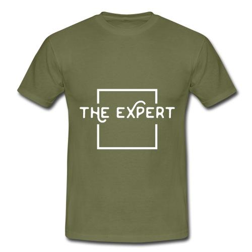 The Expert Design - Männer T-Shirt