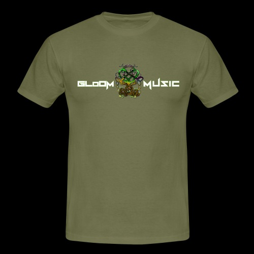 GloOm Music Tree - Men's T-Shirt