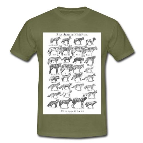 final dogs tshirt smaller - Men's T-Shirt