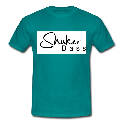shukerscriptlogo - Men's T-Shirt