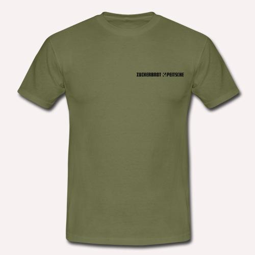 Zuckerbrot und Peitsche - Männer T-Shirt