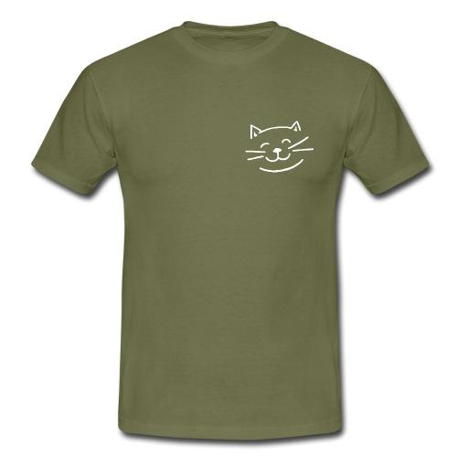 Gato Feliz - Camiseta hombre