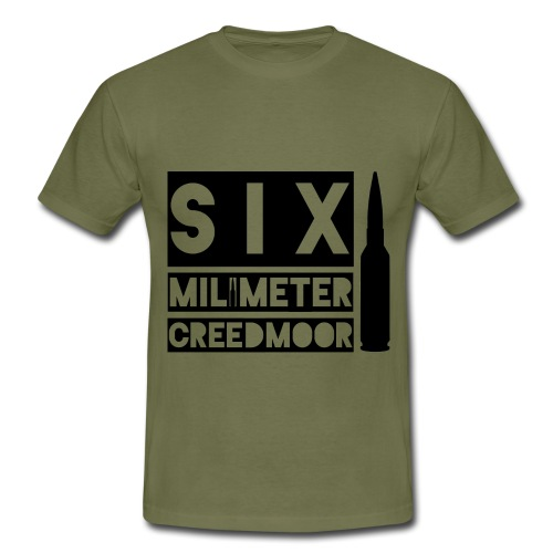 6 mm Creedmoor - T-shirt herr