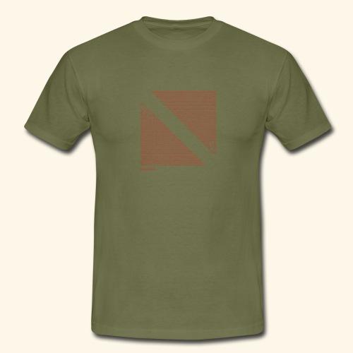 Dive Eat Sleep Repeat Taucher Flagge Design - Männer T-Shirt